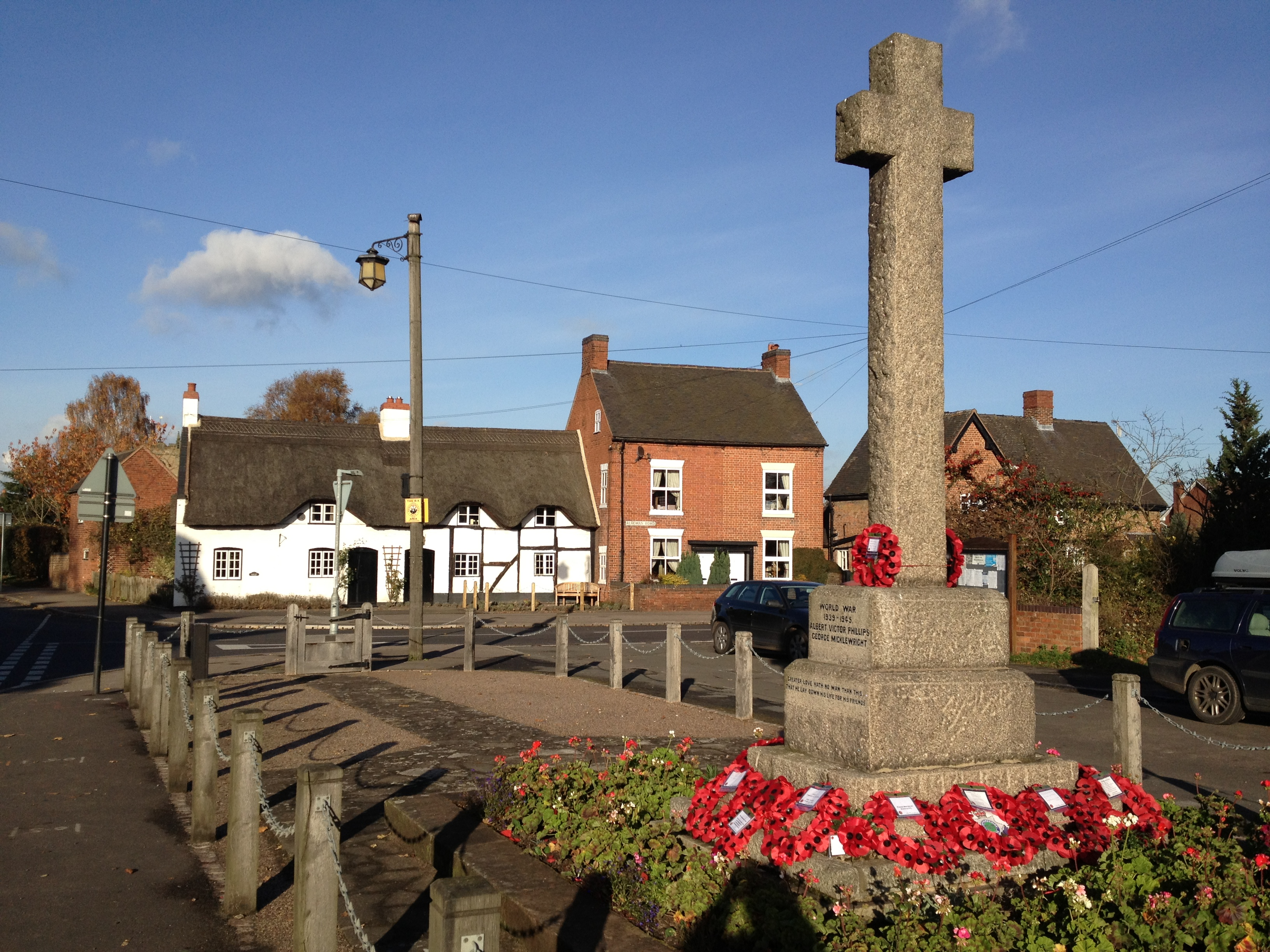 Most English villages have a war memorial