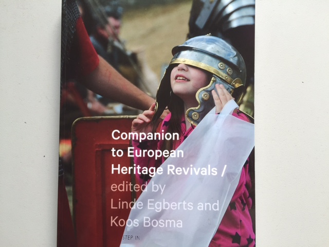 Book cover for 'Companion to European Heritage Revivals' edited by Linde Egberts and Koos Bosma