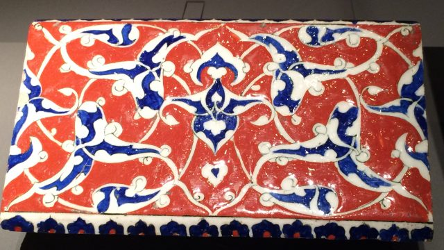 Colour and pattern are key dements of Islamic art.