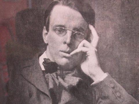 Sepia photo of Yeats