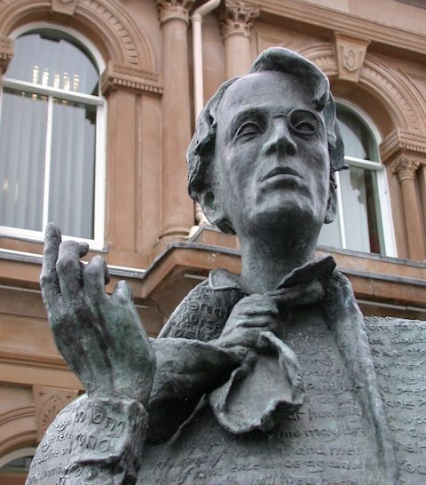 Sculpture of Yeats